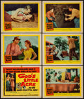 Movie Posters:Drama, God's Little Acre & Other Lot (United Artists, 1957). Fine/VeryFine. Title Lobby Card, Lobby Cards (5), & Lobby Card...