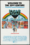 """Movie Posters:Science Fiction, Logan's Run (MGM, 1976). Folded, Very Fine. One Sheet (27"""" X 41""""). Charles Moll Artwork. Science Fiction.. ..."""