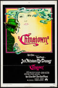 """Movie Posters:Mystery, Chinatown (Paramount, 1974). Folded, Fine/Very Fine. One Sheet (27""""X 41""""). Jim Pearsall Artwork. Mystery.. ..."""