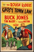 "Movie Posters:Western, Ghost Town Law (Monogram, 1942). Folded, Fine/Very Fine. One Sheet(27"" X 41""). Western.. ..."