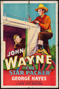"""Movie Posters:Western, The Star Packer (Lone Star, R-1930s). Folded, Fine+. One Sheet (27"""" X 41""""). Western.. ..."""