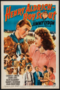"""Movie Posters:Comedy, Henry Aldrich, Boy Scout (Paramount, 1944). Folded, Very Fine. OneSheet (27"""" X 41""""). Comedy.. ..."""