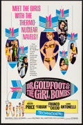 "Movie Posters:Comedy, Dr. Goldfoot and the Girl Bombs (American International, 1966).Folded, Very Fine. One Sheet (27"" X 41""). Comedy.. ..."