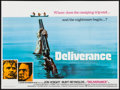 "Movie Posters:Action, Deliverance (Warner Brothers, 1972). Folded, Very Fine+. British Quad (30"" X 40""). Action.. ..."
