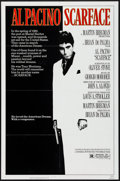 """Movie Posters:Crime, Scarface (Universal, 1983). Folded, Very Fine+. One Sheet (27"""" X 41""""). Mike Bryan Artwork. Crime.. ..."""
