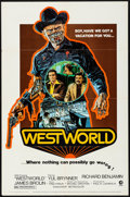 """Movie Posters:Science Fiction, Westworld (MGM, 1973). Folded, Very Fine-. One Sheet (27"""" X 41"""")Style A. Neal Adams Artwork. Science Fiction.. ..."""