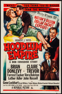 "Hoodlum Empire & Other Lot (Republic, 1952). Folded, Fine/Very Fine. One Sheets (2) (27"" X 41""). Film..."