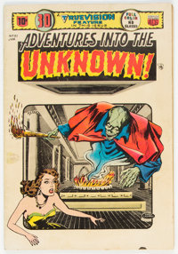 Adventures Into The Unknown #51 (ACG, 1954) Condition: VG/FN