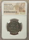 Ancients:Roman Imperial, Ancients: Domitian, as Augustus (AD 81-96). AE dupondius (29mm, 13.14 gm, 6h). NGC VF 5/5 - 4/5, Fine Style....