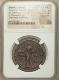 Ancients:Roman Imperial, Ancients: Antoninus Pius (AD 138-161). AE sestertius (32mm, 23.93 gm, 5h). NGC Choice VF 4/5 - 4/5, Fine Style....