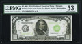 Fr. 2211-G $1,000 1934 Federal Reserve Note. PMG About Uncirculated 53
