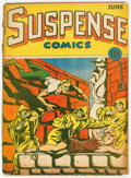Golden Age (1938-1955):Horror, Suspense Comics #4 (Continental Magazines, 1944) Condition: FR/GD....