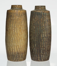 Gunnar Nylund (Swedish, 1904-1997) Pair of Floor Vases, 1950-1959, Rörstrand Glazed stoneware 21