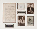 Autographs:Celebrities, John Wesley Hardin: A Classic Form of His Sought-After Signature. ...