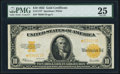 Large Size:Gold Certificates, Fr. 1173* $10 1922 Gold Certificate PMG Very Fine 25.. ...