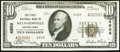 National Bank Notes:Pennsylvania, Reynoldsville, PA - $10 1929 Ty. 2 The First NB Ch. # 4908 Very Fine-Extremely Fine.. ...