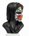 Prints & Multiples:Contemporary, Sandra Chevrier (Canadian, b. 1983). La Cage la ou les gens pleurent, 2012. Painted cast vinyl. 12 x 8-1/2 x 8-1/2 inche...
