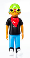 Collectible, Hebru Brantley (b. 1981). Flyboy, 2018. Painted cast vinyl. 18 x 7 x 5 inches (45.7 x 17.8 x 12.7 cm). Stamped on the un...
