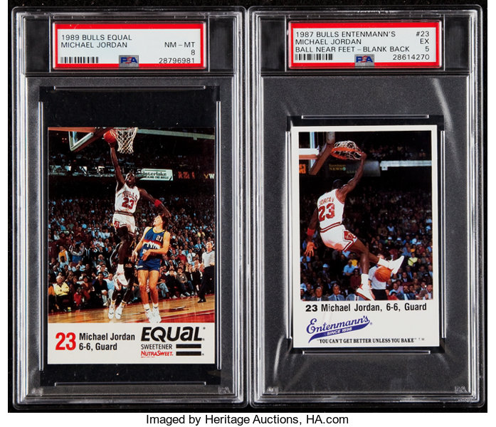 99fdabb2b2873d 1985-89 Multi-Sport Collection (27) With Two PSA Graded
