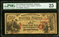 National Bank Notes:California, Oakland, CA - $20 Original Fr. 1158 The First National Gold Bank Ch. # 2248 PMG Very Fine 25.. ...
