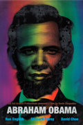 Prints & Multiples:Print, Ron English (b. 1959). Abraham Obama (Red, White, and Blue), 2009. Lenticular 3 color flip print. 36 x 24 inches (91.4 x...