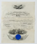 Autographs:U.S. Presidents, Grover Cleveland: Signed Naval Appointment....