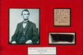 Political:Memorial (1800-present), Abraham Lincoln: Washington, D.C. Funeral Bier Relic....