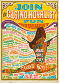"Movie Posters:James Bond, Casino Royale (Columbia, 1967). Rolled, Fine/Very Fine. Special Poster (16"" X 22.5""). Robert McGinnis Artwork.. ..."
