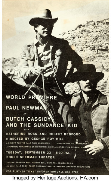 944190830 Butch Cassidy and the Sundance Kid (Yale Film Associates, 1969 ...