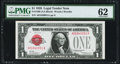 Small Size:Legal Tender Notes, Fr. 1500 $1 1928 Legal Tender Note. PMG Uncirculated 62.. ...