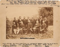 Photography:Cabinet Photos, Robert E. Lee: White Sulphur Springs Group Photograph.... (Total: 2 Items)