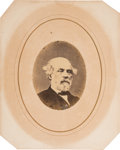 "Photography:Cabinet Photos, Robert E. Lee: Cropped Version of Brady ""Second Clock"" Portrait...."