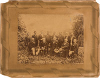 Robert E. Lee: White Sulphur Springs Group Photograph