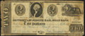 Obsoletes By State:Michigan, Jackson, MI- Detroit & St. Joseph Rail Road Bank $2 June 9, 1840 Very Good-Fine.. ...