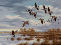 Paintings, David A. Maass (American, b. 1929). Back to the Marsh. Oil on Masonite. 30 x 40 inches (76.2 x 101.6 cm). Signed lower r...