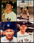 Autographs:Photos, Mickey Mantle Signed Image Lot of 4. ... (Total: 4 items)