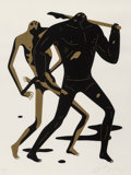 Prints & Multiples:Print, Cleon Peterson (b. 1973). Doom Alone 1, 2017. Screenprint in colors on wove paper. 24 x 18 inches (61 x 45.7 cm) (sheet)...