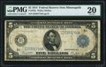 Large Size:Federal Reserve Notes, Fr. 879a $5 1914 Federal Reserve Note PMG Very Fine 20.. ...