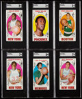Basketball Cards:Lots, 1969 Topps Basketball Collection (226)....