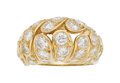 Estate Jewelry:Rings, Diamond, Gold Ring The ring features full-cut ...
