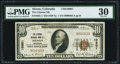 National Bank Notes:Colorado, Akron, CO - $10 1929 Ty. 1 The Citizens NB Ch. # 10901 PMG Very Fine 30.. ...