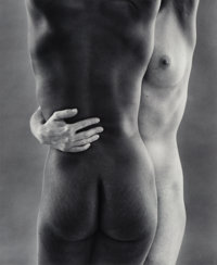 Ruth Bernhard (American, 1905-2006) Two Forms, San Francisco, 1963 Gelatin silver, printed later