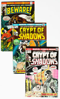 Marvel Bronze Age Horror Group of 18 (Marvel, 1970s) Condition: Average FN.... (Total: 18 Comic Books)
