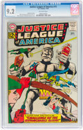 Silver Age (1956-1969):Superhero, Justice League of America #15 (DC, 1962) CGC NM- 9.2 Off-white pages....