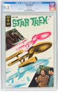 Silver Age (1956-1969):Science Fiction, Star Trek #4 (Gold Key, 1969) CGC NM- 9.2 White pages....