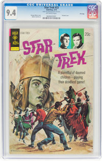Star Trek #23 File Copy (Gold Key, 1974) CGC NM 9.4 Off-white pages