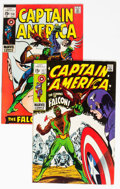 Bronze Age (1970-1979):Superhero, Captain America #117 and 118 Group (Marvel, 1969) Condition:Average VG/FN.... (Total: 2 Comic Books)