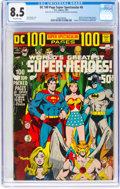 Bronze Age (1970-1979):Superhero, DC 100 Page Super Spectacular #6 (DC, 1971) CGC VF+ 8.5 Off-white pages....