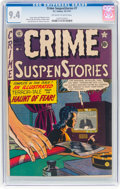 Golden Age (1938-1955):Crime, Crime SuspenStories #7 (EC, 1951) CGC NM 9.4 Off-white to white pages....