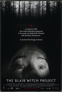 """The Blair Witch Project (Odeon Films, 1999). One Sheet and Advance One Sheet (27"""" X 40""""). Horror"""